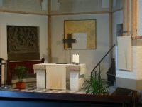 Altar- und Kanzeltuch weiß