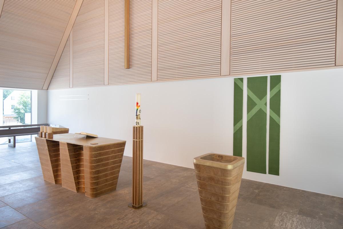 ev. Kirche Bad Abbach, Altarraum