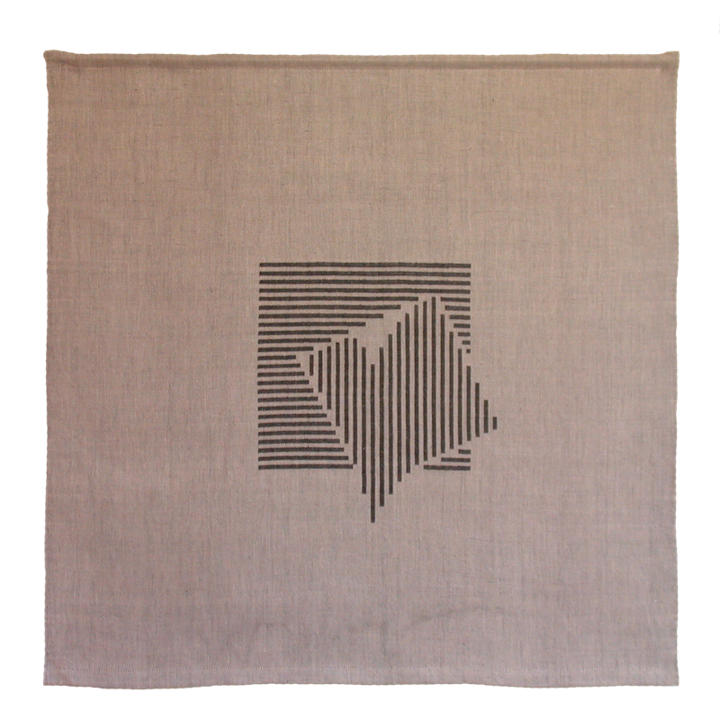 Textiles Bild – Ohne Titel