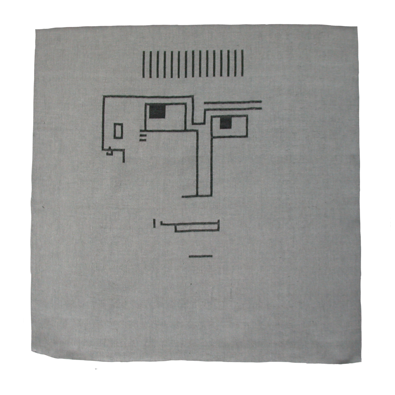 Textiles Bild – Er