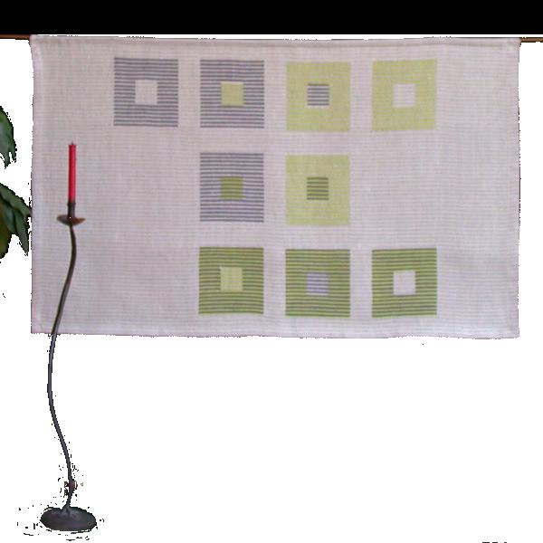 Textiles Bild – Studie Grün