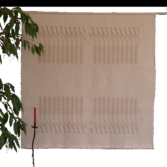 Textiles Bild – Ähren